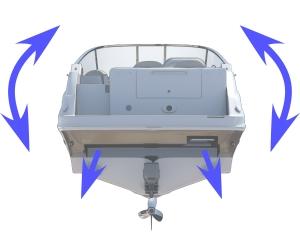 Mente Marine Vollautomatische Trimmklappensteuerung